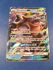 Blastoise GX 35/214 Unbroken Bonds ULTRA RARE Pokemon Card NEAR MINT