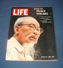 LIFE MAGAZINE MARCH 22 1968 HO CHI MINH DAVID FROST HYPNOSIS MACHINE NICE!!