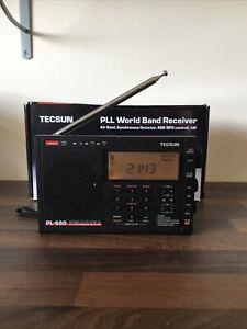 TECSUN PL-680 PLL ShortWave FM/Stereo MW LW SW SSB AIR Band Radio Receiver