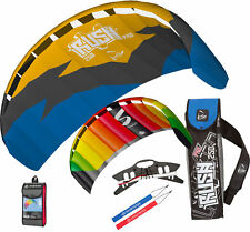 HQ Rush Pro 250 Trainer Kite w/ Free Symphony Beach 1.3 Trainer Kite