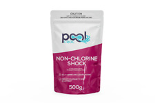 Pool Croc - Non Chlorine Shock 500g Pool and Spa Chemical + 50 Free Test Strips