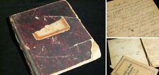 Handgeschriebenes Kochbuch von Ida G. aus 1908 - 1910