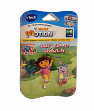 Vtech Active Learning Game Dora's Fix-it Adventure V.Smile Motion FREE DELIVERY