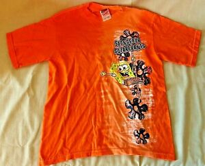 Vintage Spongebob Squarepants Youth 10/12 T-Shirt NEW