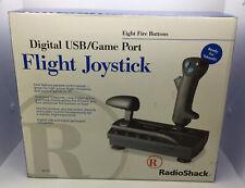 RadioShack Digitall USB/Game Port Flight Joystick - New