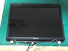 TOSHIBA SAT PRO L300 / L300D TOP LID screen cover + bezel + hinges /