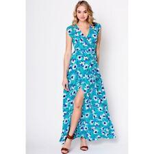 Yumi Kim SILK Swept Away Maxi Dress -  Perfect Day Bouquet Turquoise Small