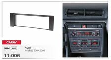 CARAV 11-006-25-7 stereo fascia DIN Install dash Kit harness for AUDI A4 B6