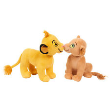 LION KING Simba Nala Kissing Stuffed Animals Plush Toys