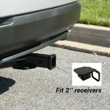 """Rubber Trailer Receiver Hitch Cover Plug Protector 2"""" for Toyota Jeep Mercedes"""
