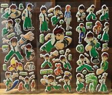 Animation BEN 10 three-dimensional bubble stickers 6 sheets gifts children's toy
