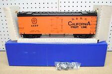 DELTON 4257 Denver & Rio Grande California Fruit Line Reefer Car *G-Scale* NEW