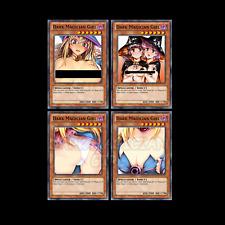Dark Magician Girl Orica Proxy Set #1-4 Custom Yugioh Cards