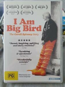 I am Big Bird DVD, Sesame Street, The Muppets, documentary, puppets, cult