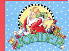 Mary Engelbreit-Santa Claus Wonder-Blank Christmas Note Card w/Envelope-New!