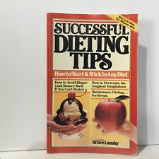 Successful Dieting Tips by Lansky Illustrated Free Shipping