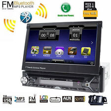 7'' Single 1Din Autoradio GPS Touch Screen Bluetooth Video Car Stereo Autoradio