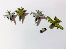 Micro Machines Military Aircraft Lot - 4 Vehicles