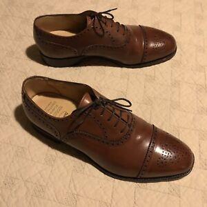Crockett & Jones / Peal&Co For BB  Cap Toe Oxford Brogues 8.5 ($698) EUC