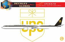 1/144 SCALE DECALS UPS DC8-73F