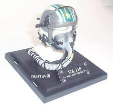 Mini US.Navy VA-115 HGU 55/P Flight / Flying Helmet & MBU 12/P Oxygen Mask (805)