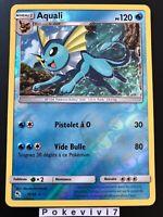 Carte Pokemon AQUALI 18/68 Holo REVERSE Soleil et Lune 11,5 SL11.5 FR NEUF