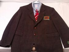 Boston Traders Men's NWT Wool Tweed Brown Multi-Color 2 Btn Sport Jacket 42 S