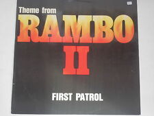 "Theme FROM RAMBO II-FIRST PATROL - 12"" COLONNA SONORA OST"