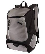 "Puma Top Load Laptop School Bag Backpack / 19.5""x13"" Silver Black"