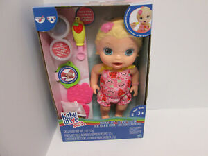 Baby Alive Super Snacks Snackin Lily Doll Eats Poops NEW