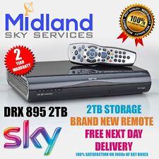 SKY PLUS + HD BOX - AMSTRAD DRX895 - 2TB storage Including New remote control
