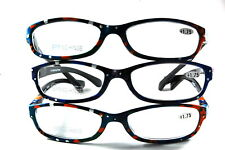UV 0557 Lady Reading Glass Color Frame +175 3 for 1 price