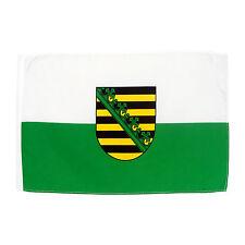 Fahne Sachsen Saxony 30 x 45 cm  Stockflagge Bundesland BRD
