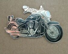 GENUINE KAWASAKI VN2000 VN 2000 BLACK PIN BADGE