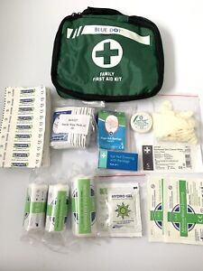 First Aid Kit 125 Piece Medical Emergency Workplace Car Sports Travel Superior