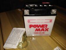 Powermax Conventional 12V Battery 12N5.5A-3B