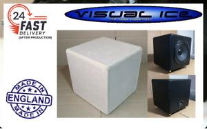 Sub Woofer Speaker DIY mdf cabinet enclosure box bookshelf gaming car self build