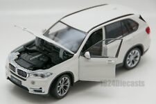 BMW X5 white, Welly 24052, scale 1:24, model adult boy gift