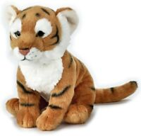 NATIONAL GEOGRAPHIC TIGER PLUSH SOFT TOY 24CM STUFFED ANIMAL - BNWT
