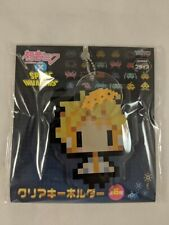 Vocaloid - Space Invaders Cross Acrylic Keychain - Len