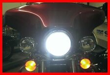 HARLEY HEADLIGHT LED  BRIGHTER THAN DAYMAKER EXTREMELY SUPER BRIGHT H4 BULB 40W