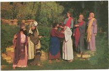 "Vintage Postcard - Black Hills Passion Play - ""Judas Betrays His Master"" - Vg"