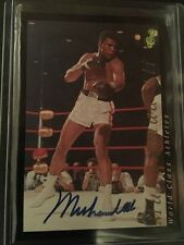 1992 Classic Muhammad Ali Autographed Signed Card Auto Signature Boxing 1 of 300