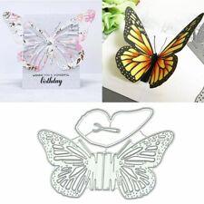 DIY Butterfly Metal Cutting Dies Stencil Scrapbooking Album Stamp Card Art Craft