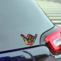 Hand Gesture Graffiti PVC Car Sticker Decoration Decals For Universal Auto Car