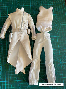 HOTTOYS 1/6 Scale Storm Shadow G.I. Joe Retaliation White Clothing Suit Outfits