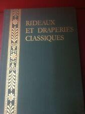 """Dubois M. J. """"Rideaux et draperies classiques"""" – Cottet, 1964"""