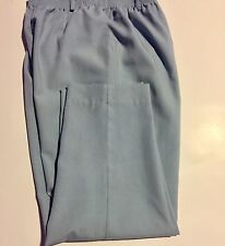 ALFRED DUNNER Womens Size 10 Stretch Belt Loop Waist Two Pocket Blue Pants