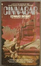 EDWARD BRYANT Cinnabar. Bantam paperback. City at the Center of Time