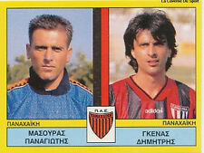 N°438 PLAYERS PANACHAIKI GREECE PANINI GREEK LEAGUE FOOT 95 STICKER 1995